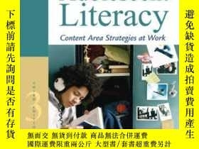 二手書博民逛書店Improving罕見Adolescent Literacy: Content Area Strategies A