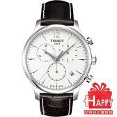 TISSOT*瑞士*天梭錶 T-TRADITION 極簡風計時腕錶T0636171603700