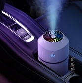 車載加濕器大噴霧車內汽車用空氣小型霧化機加迷你便攜式凈化濕化器LXY7558『黑色妹妹』