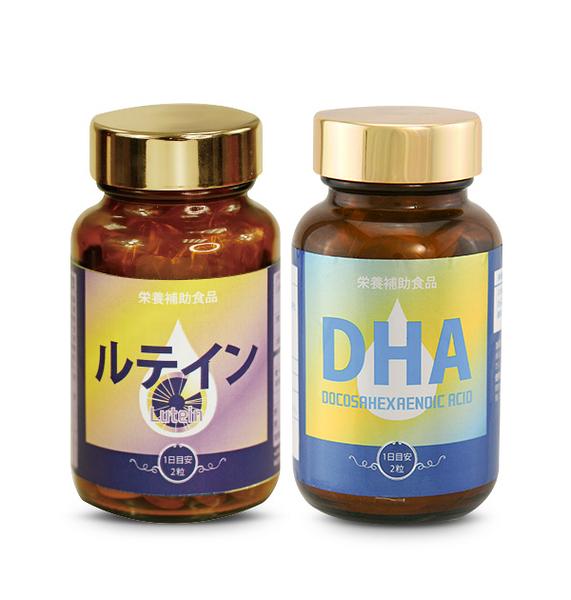 健康食妍 金盞葉黃素*1+DHA70*1【新高橋藥妝】