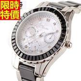鑽錶-造型經典休閒女手錶4色5j144【巴黎精品】