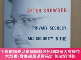二手書博民逛書店After罕見Snowden: Privacy, Secrecy, and Security in the Inf