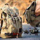 登山包/後背包 帆布包復古背包歐美戶外休閒短途旅行包學生書包機車包