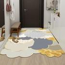 輕奢皮革入戶門地墊家用墊子可擦免洗pvc進門墊玄關腳墊門口地毯一米