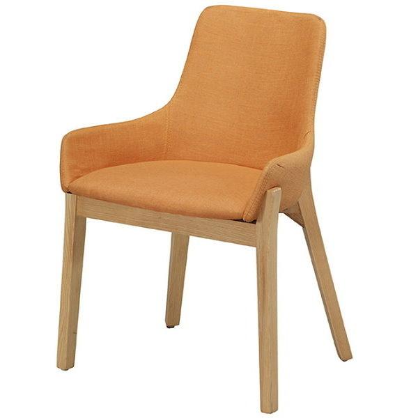 餐椅 CV-761-5 YS-16布黃原木腳餐椅【大眾家居舘】