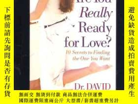 二手書博民逛書店Are罕見You Really Ready for Love?1