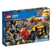 LEGO 樂高 City 城市系列 60186 採礦重型鑽孔機 【鯊玩具Toy Shark】
