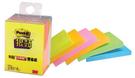 【奇奇文具】3M 2056S 多色狠黏利貼便條紙/便利貼 (6本/盒)