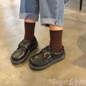 娃娃鞋ins小皮鞋女學生韓版百搭ulzzang原宿學院風復古平底大頭娃娃單鞋 交換禮物