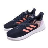 adidas 慢跑鞋 Asweerun 藍 白 女鞋 低筒 基本款 運動鞋 【ACS】 EG3188