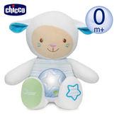 chicco舒眠星光音樂晚安羊-粉藍