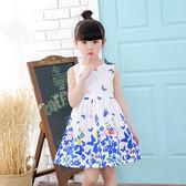 618好康鉅惠 2-3-4歲女童連身裙小女孩背心裙公兒童裙子