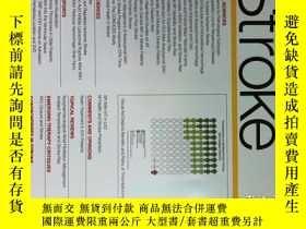 二手書博民逛書店Stroke(journal)罕見2018 01卒中中風醫學學術