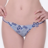 【LADY】天堂樂園系列 低腰丁字褲(天空藍)