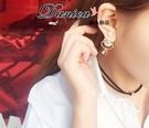 耳環 現貨 韓國氣質 奢華 名媛 珍珠 地球儀 吊飾 水鑽 耳環 S92040 批發價 Danica 韓系飾品 韓國連線