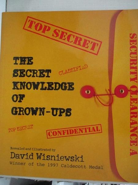 【書寶二手書T6/少年童書_JMO】The Secret Knowledge of Grown-Ups_Wisniewski, David
