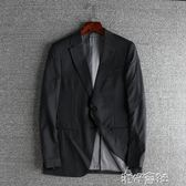 春季男士休閒羊毛西服外套修身西裝男青年單西 港仔會社