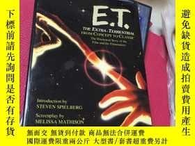 二手書博民逛書店ET:罕見The Extra-Terrestrial 4張光盤如