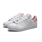 ADIDAS ORIGINALS STANSMITH 白 粉 皮革 休閒鞋 女(布魯克林) EF9319