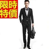 西裝套裝 包含西裝外套+褲子 男西服-上班族制服新款明星同款辦公必買54o40[巴黎精品]