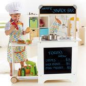 德國 Hape愛傑卡 移動式點餐廚具台