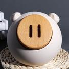 創意個性小豬存錢罐男女生兒童可愛零錢儲蓄罐可存可取大人用簡約 夢幻小鎮