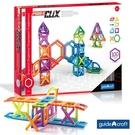 GuidecraftPowerClix®磁力片~空間組合100件套G9202