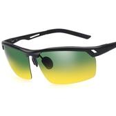 太陽眼鏡-偏光日夜視鏡防紫外線防強光雙重功效男-墨鏡-2色73nm21【巴黎精品】