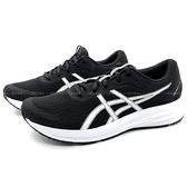 《7+1童鞋》男段 ASICS 亞瑟士 MEN PATRIOT 12 透氣 機能包覆 運動鞋 慢跑鞋 5266 黑色