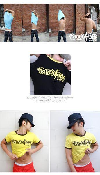 奢華壞男《 TOUCH ME限量款 - 超舒適彈性合身剪裁T恤 》4色【S / M / L / XL / XXL】(潮T、短袖、服飾)