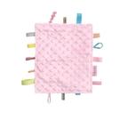 奇哥 豆趣標籤響紙安撫巾- 粉色獨角獸 (TEA04700P) 293元