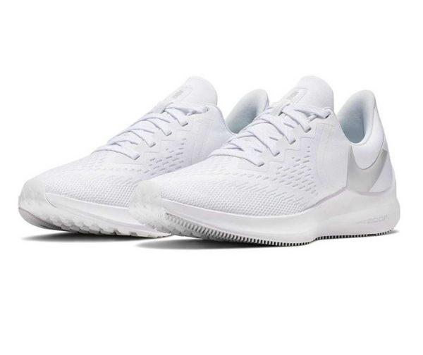 NIKE系列-NIKE ZOOM WINFLO 6 女款白色運動跑步鞋-NO.AQ8228100 | 慢跑鞋 |