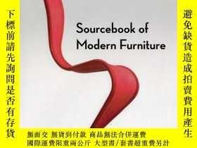 二手書博民逛書店Sourcebook罕見of Modern Furniture