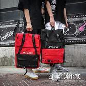 後背包  書包女韓版原宿大容量高中學生後背包學院撞色電腦 背包男