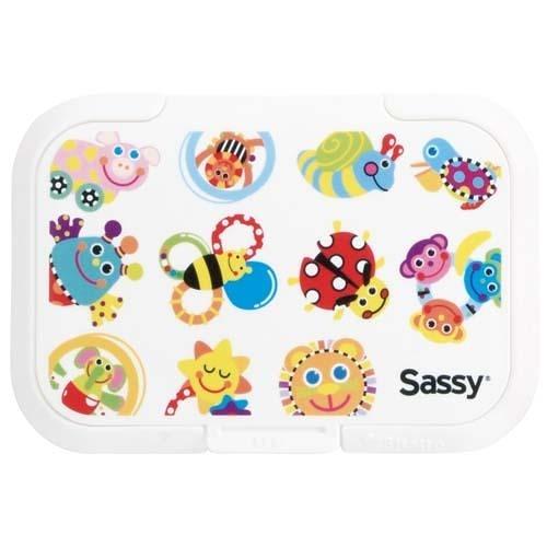 日本 Bitatto系列 Sassy 濕紙巾專用蓋 (PUSH TYPE) -昆蟲明星大集合