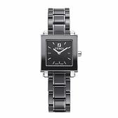 FENDI 典雅時尚陶瓷腕錶/黑/25mm/621210