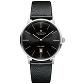 Hamilton 漢米爾頓 Intra-Matic 美國經典雋永機械錶-黑/42mm H38755731