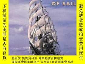 二手書博民逛書店Tall罕見Ships: The Magic of Sail (American Landmarks)-高聳的船:
