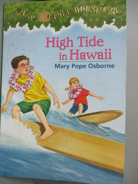 【書寶二手書T2/原文小說_KCK】High Tide in Hawaii_Osborne, Mary Pope/ Murdocca, Sal (ILT)