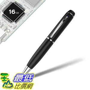 [8美國直購] iSmartPen Pro 16GB Silver - Surveillance DVR Pen - 1920p x 1080p - Business Executive Educational