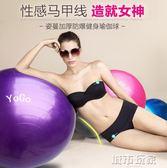 瑜伽球 瑜伽球加厚防爆瑜珈球孕婦分娩球瘦身減肥健身球  小宅女