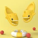 拖鞋女夏2021新款ins網紅鯊魚涼拖鞋情侶居家親子可愛外穿拖鞋男 設計師