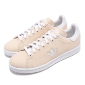 adidas 休閒鞋 Stan Smith W 米白 白 皮革 基本款 小logo 百搭款 女鞋【PUMP306】 CG6794