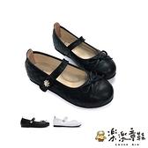 【樂樂童鞋】【台灣製現貨】MIT菱格鑽花公主鞋 C009 - 台灣製 MIT 女童鞋 皮鞋 娃娃鞋 大童鞋