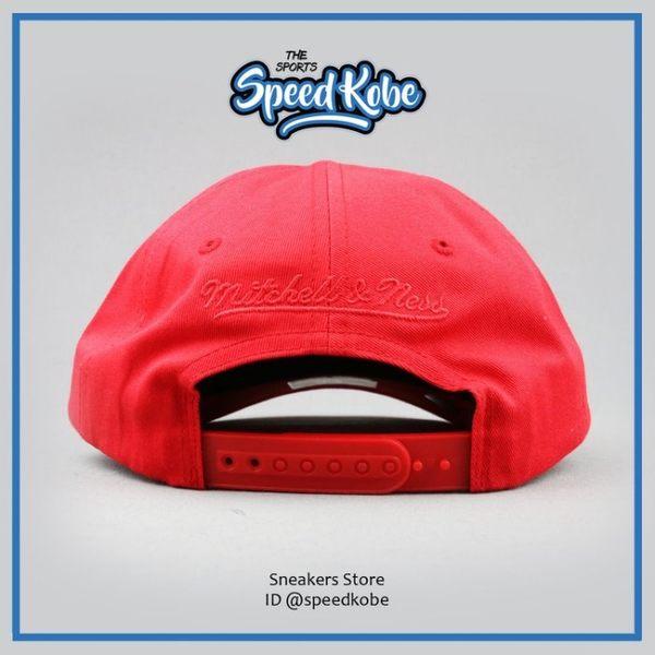 M&N 老帽 NBA 小LOGO 紅藍 可調 HA18EDF【SP】