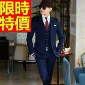 成套西裝 包含西裝外套+褲子 男西服-制服上班族顯瘦新品熱銷個性2色54o14[巴黎精品]