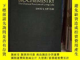 二手書博民逛書店BIOCHEMISTRY罕見THE CHEMICAL REACTIONS OF LIVING CELLS 生物化學