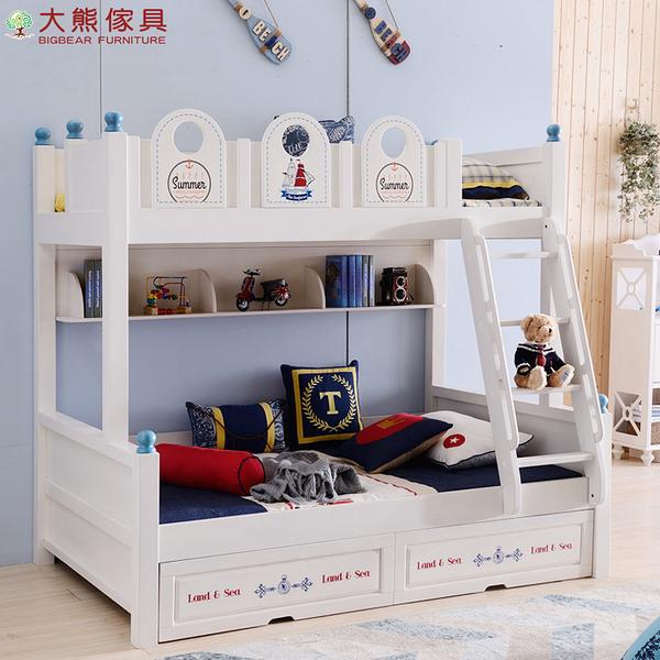 【大熊傢俱】JIN 613 兒童床 高低床 子母床 上下舖 雙層床 抽屜床 儲物床 組合床