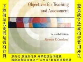 二手書博民逛書店Writing罕見Instructional Objectives For Teaching And Assess