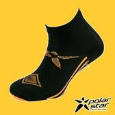PolarStar 中性排汗短筒襪『黑』P18521 露營.戶外.登山.排汗襪.彈性襪.紳士襪.休閒襪.短襪.長襪